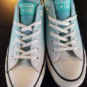 Ombre blue converse